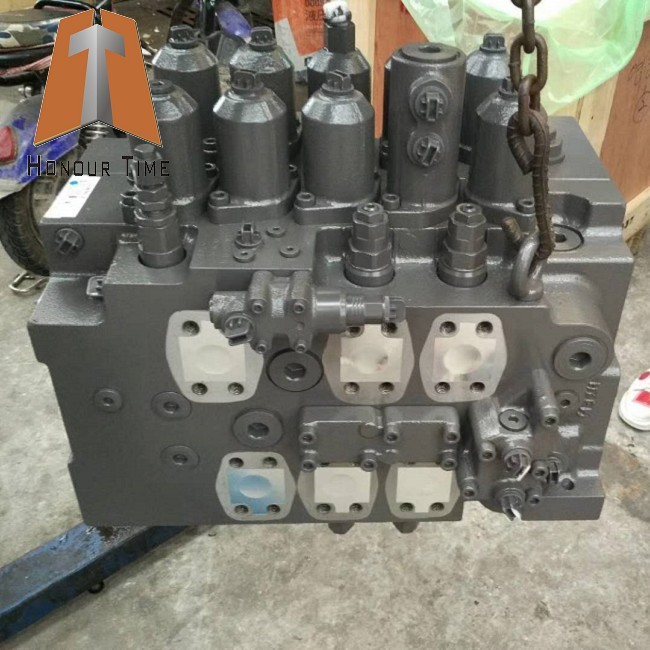 Excavator main hydraulic distribution valve for EC330B control valve
